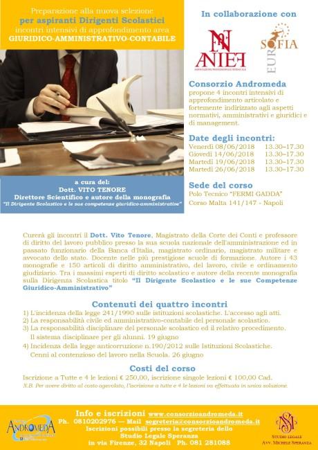 Locandina corso dirigente agg. 05.06.18